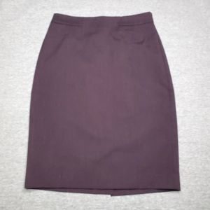 Ann Taylor Classic Pencil Skirt with Slit Size 0